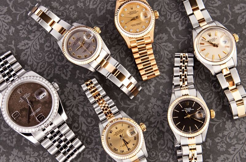 Luxury Watches and Insurance women's Rolex Lady Datejust