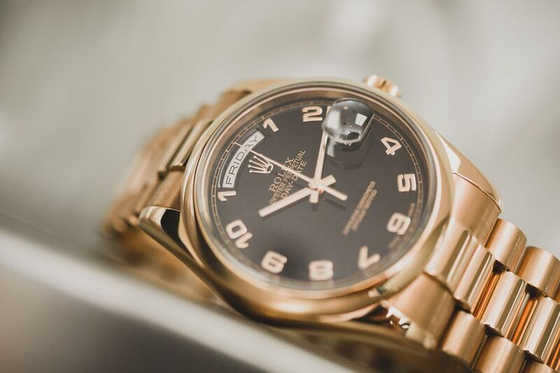 Rolex pink gold Day-Day President