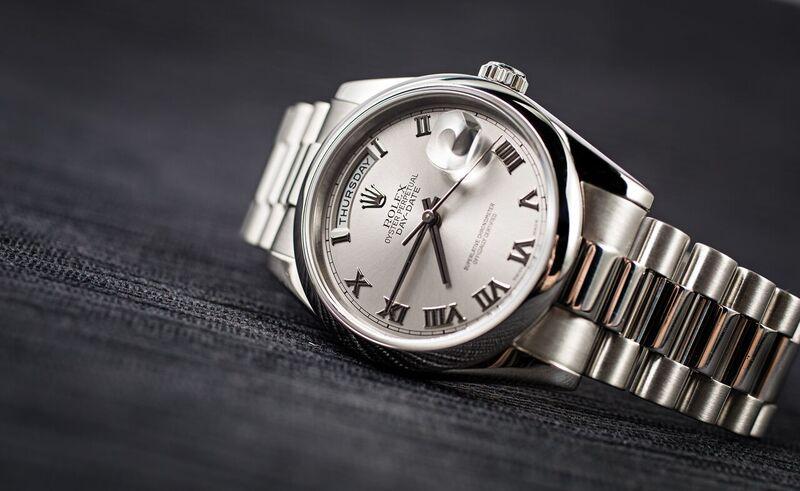 Rolex platinum Day-Date President