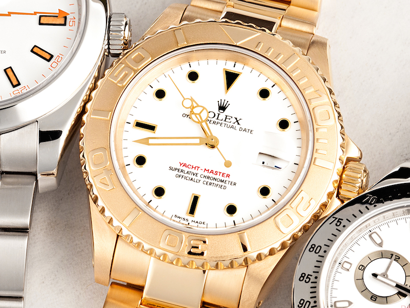 Rolex yellow gold Yacht-Master