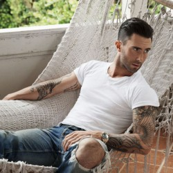 """Adam Levines shoot for People Magazines """"Sexiest Man Alive"""" edition Image: People Magazine"""