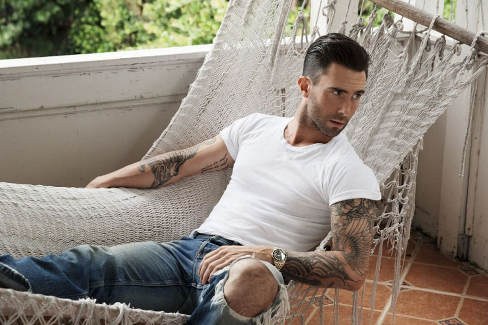 Adam Levine Rolex