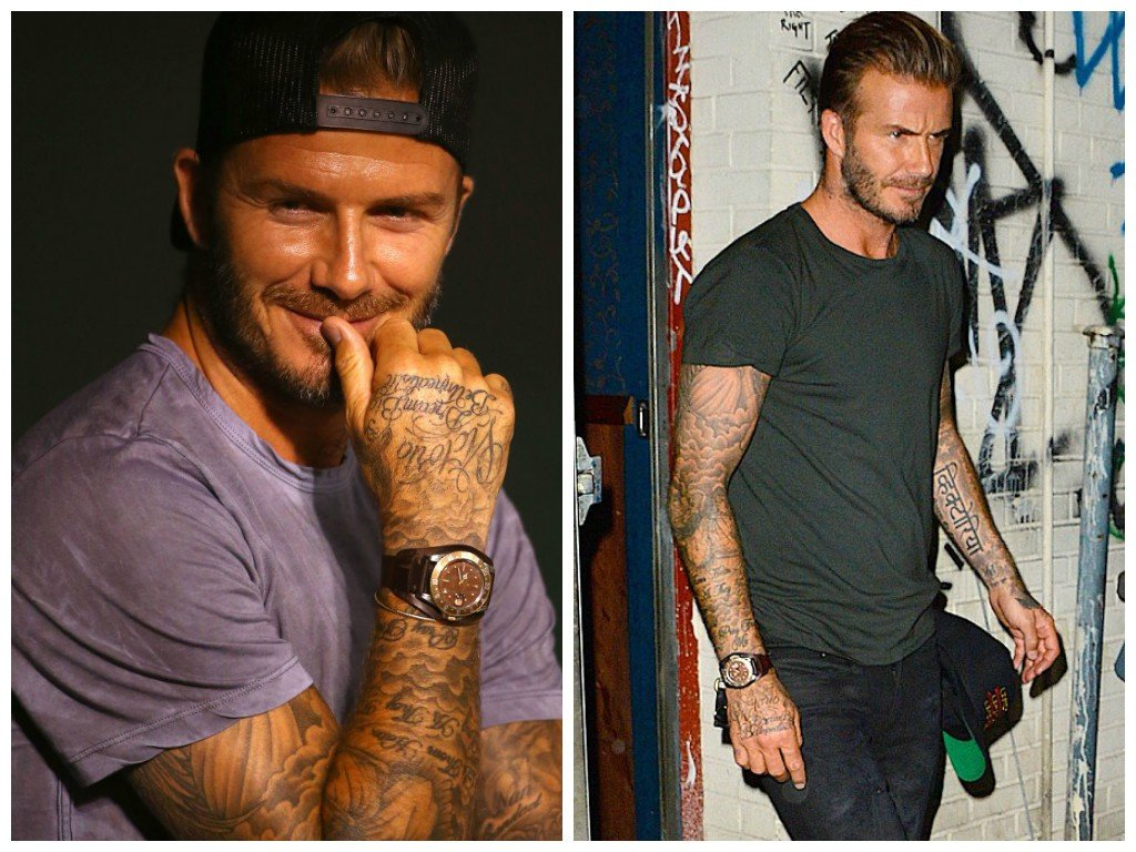 A close look at victoria and david beckham 39 s watches bob 39 s watches for Celebrity sextortion watch