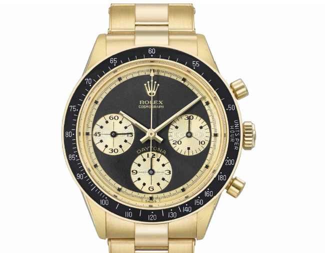 Rolex Cosmograph Daytona 6241 (Image courtesy of Christie's)