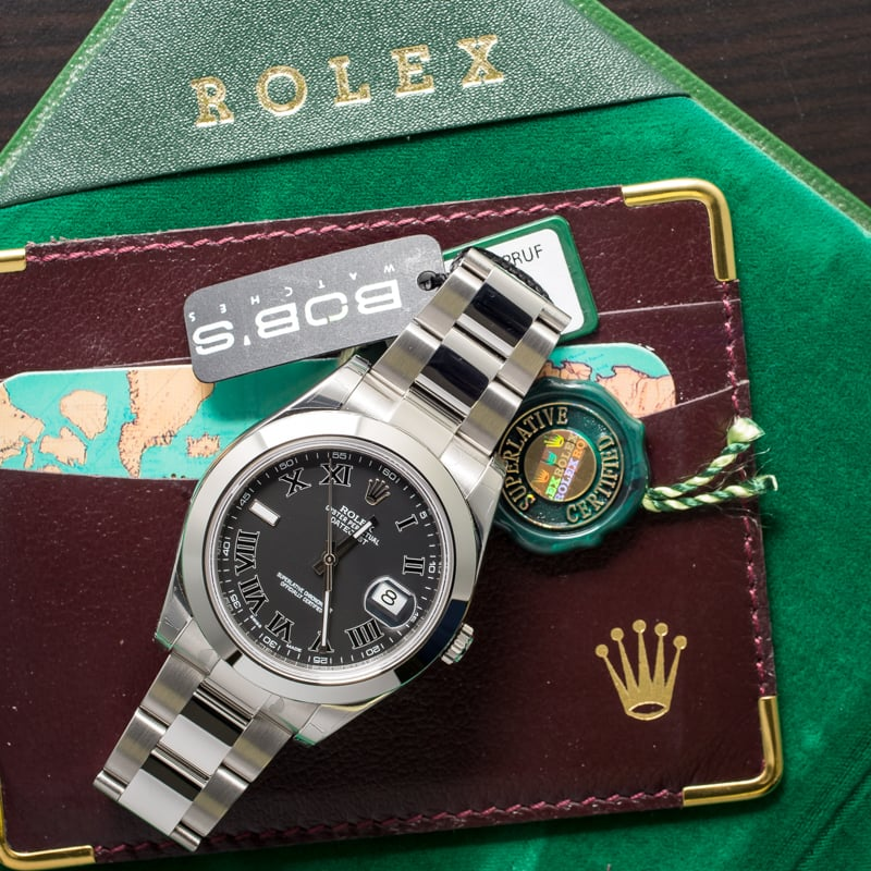 There were a full changes from the Datejust to the Rolex Datejust II ref. 116300