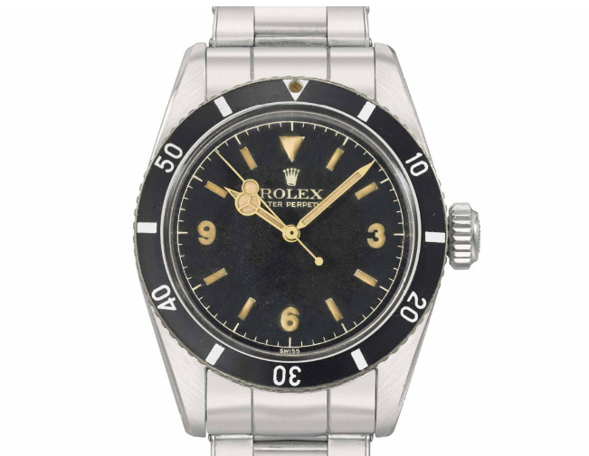 Rolex Submariner 6200 (Image courtesy of Christie's)