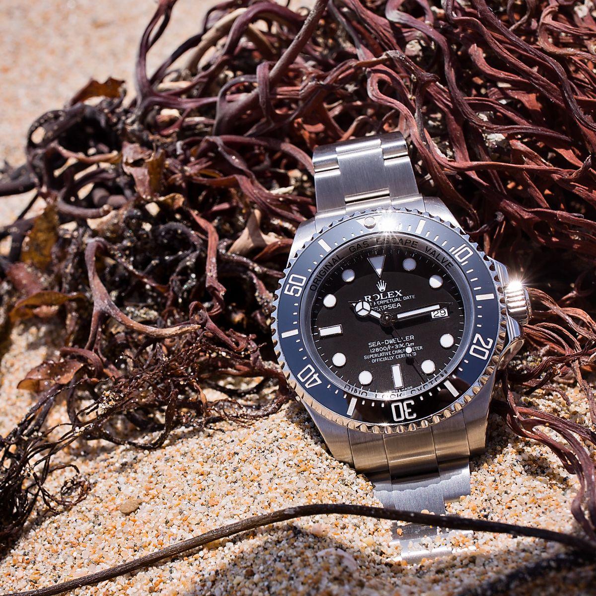 Rolex Materials Oystersteel Deepsea Sea-Dweller 116660 Cerachrom