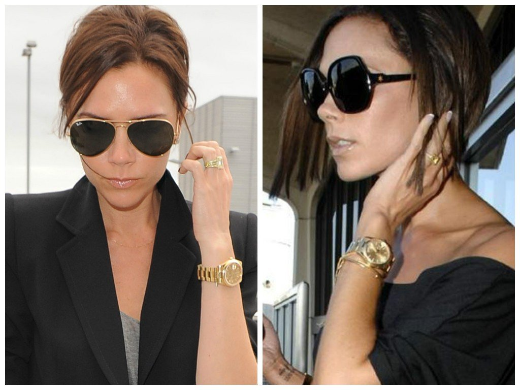 A close look at victoria and david beckham 39 s watches bob 39 s watches for Celebrity wearing rolex watches