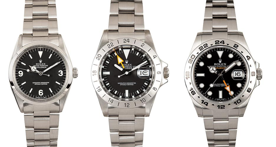 collection Rolex Explorer 1 and Explorer 2 Watches