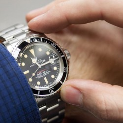 rolex oyster vintage stainless submariner reference 5512