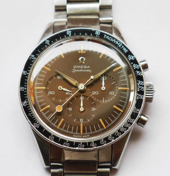Face of Omega Speedmaster (Credit: vintageaddicted13 via eBay)