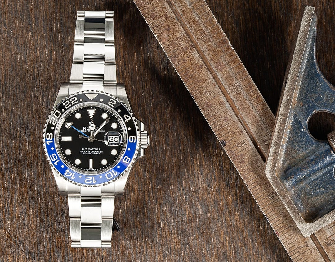 """Rolex GMT-Master II ref. 116710 """"Batman"""""""