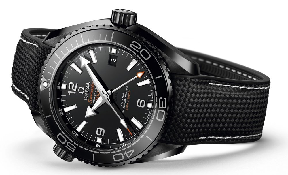 Omega Seamaster Planet Ocean Black