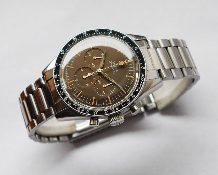 Omega Speedmaster Front and Center (Credit: vintageaddicted13 via eBay)