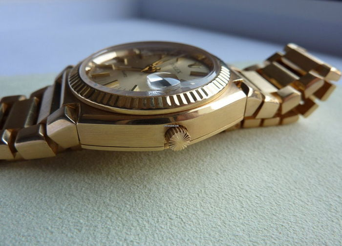 Rolex 5100 Saphire Crystal Shot