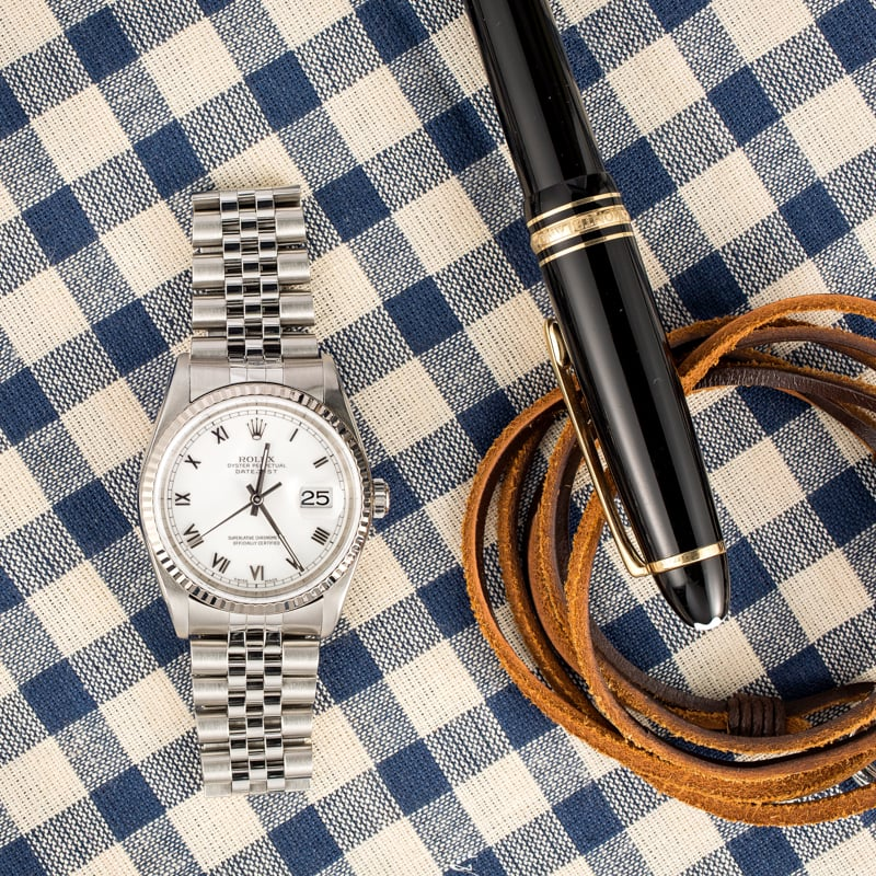 Rolex Datejust 16234 with Jubilee bracelet
