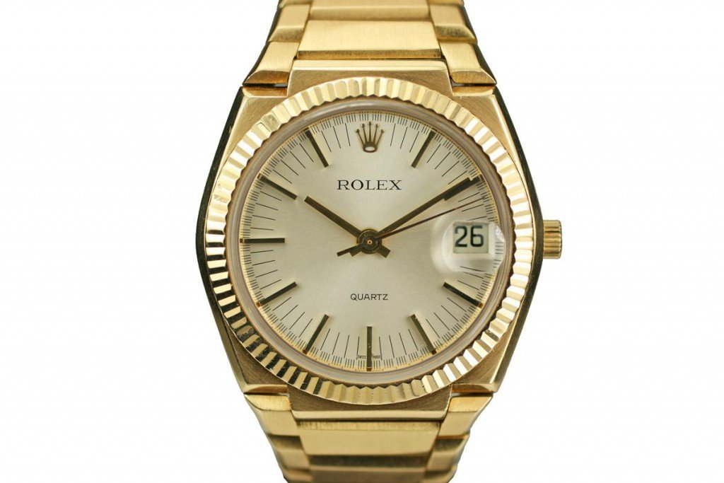 Rolex Date 1500 Quartz (Image: Rolex Encyclopedia)
