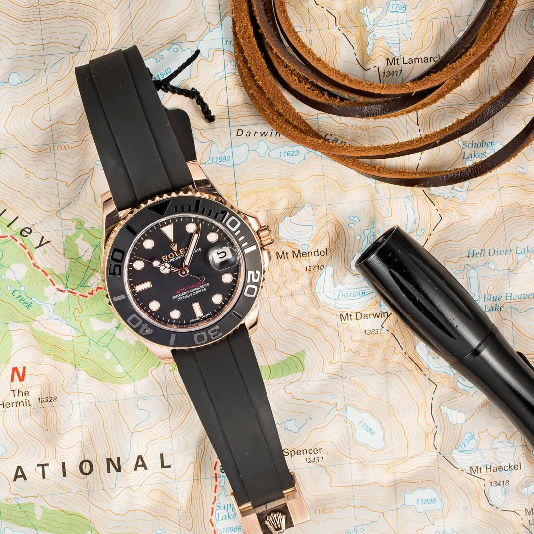 You can take the Rolex Yacht-Master anywhere.