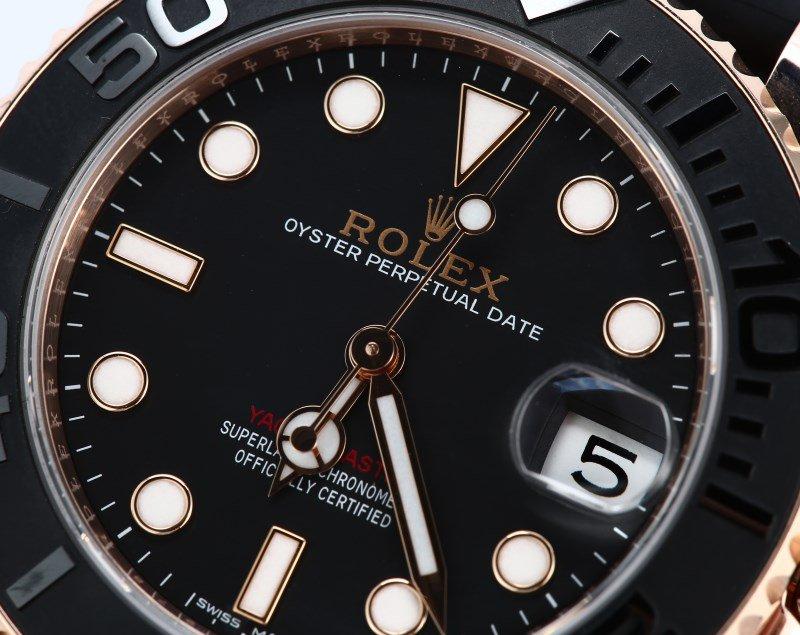 Rolex Everose gold Yacht-Master