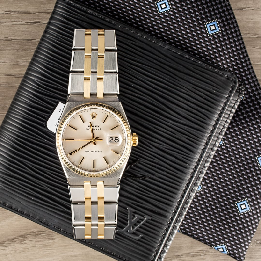 Watch Investments on a Rolex is ideal.