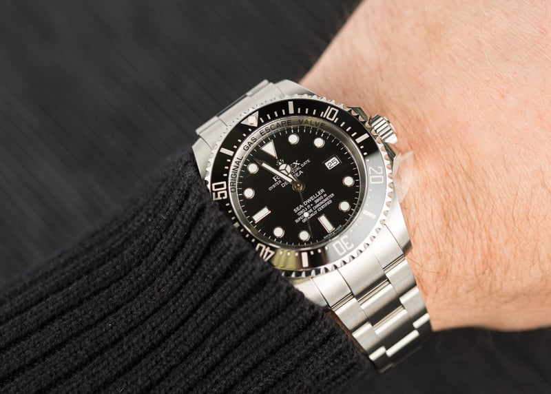 The Rolex Sea-Dweller Deepsea is our favorite Deep Dive watch