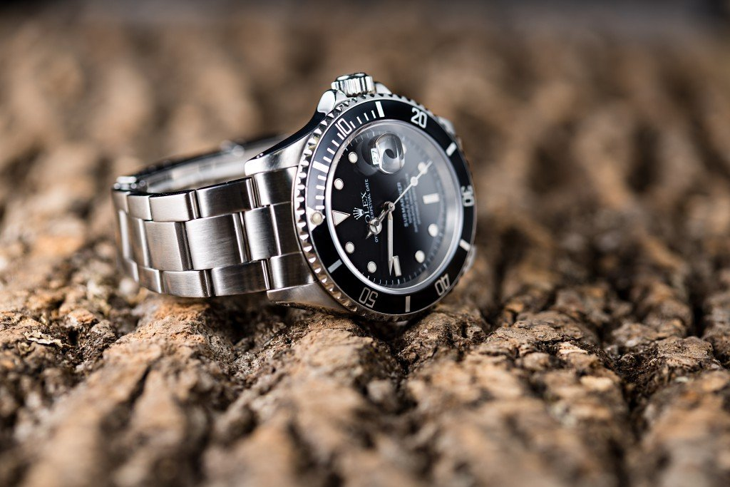 stainless steel Submariner Date