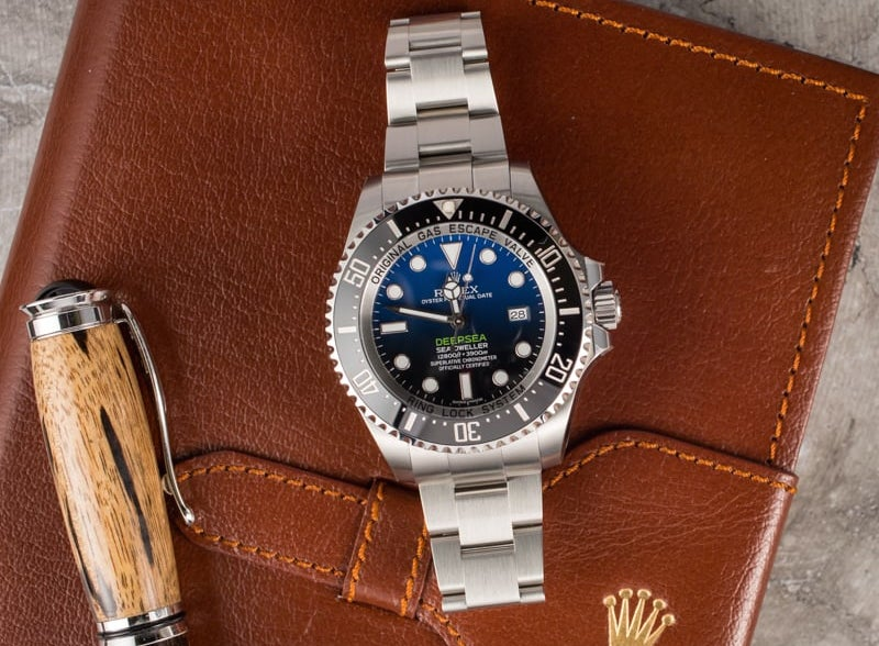 The DeepSea Sea-Dweller is a watch you can take to nearly any depth.