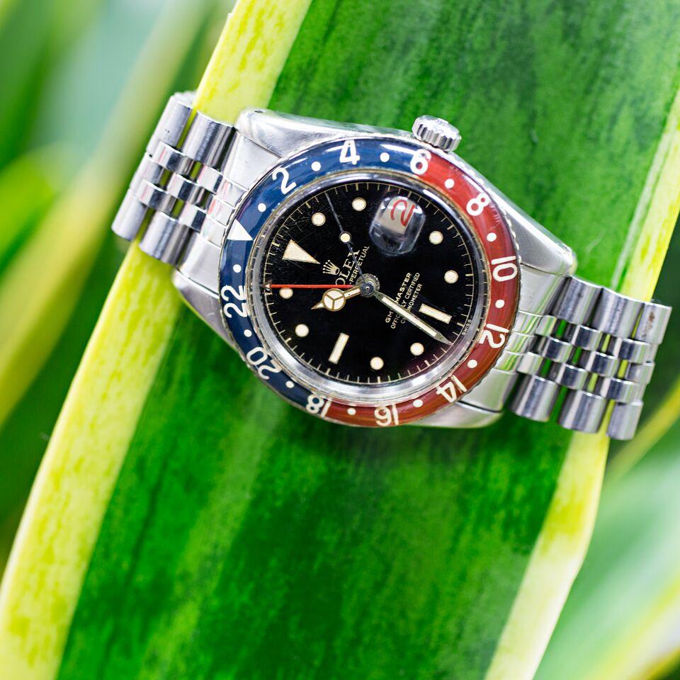 Vintage Rolex GMT Master II Ref. 16760