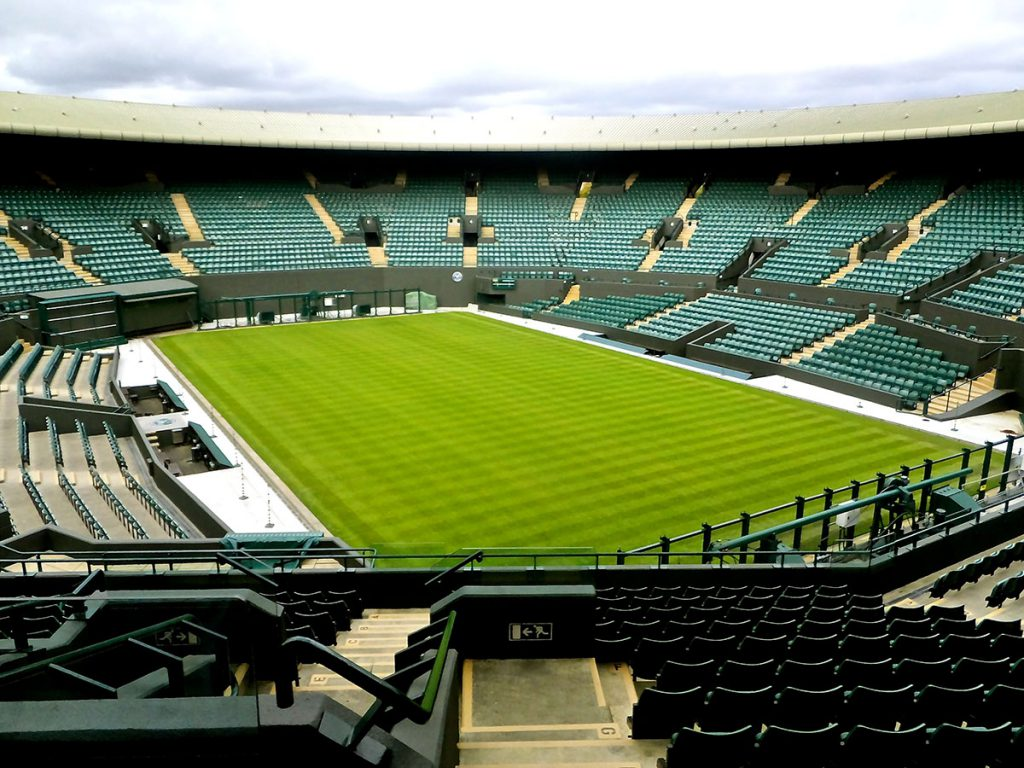 Image result for wimbledon championship court