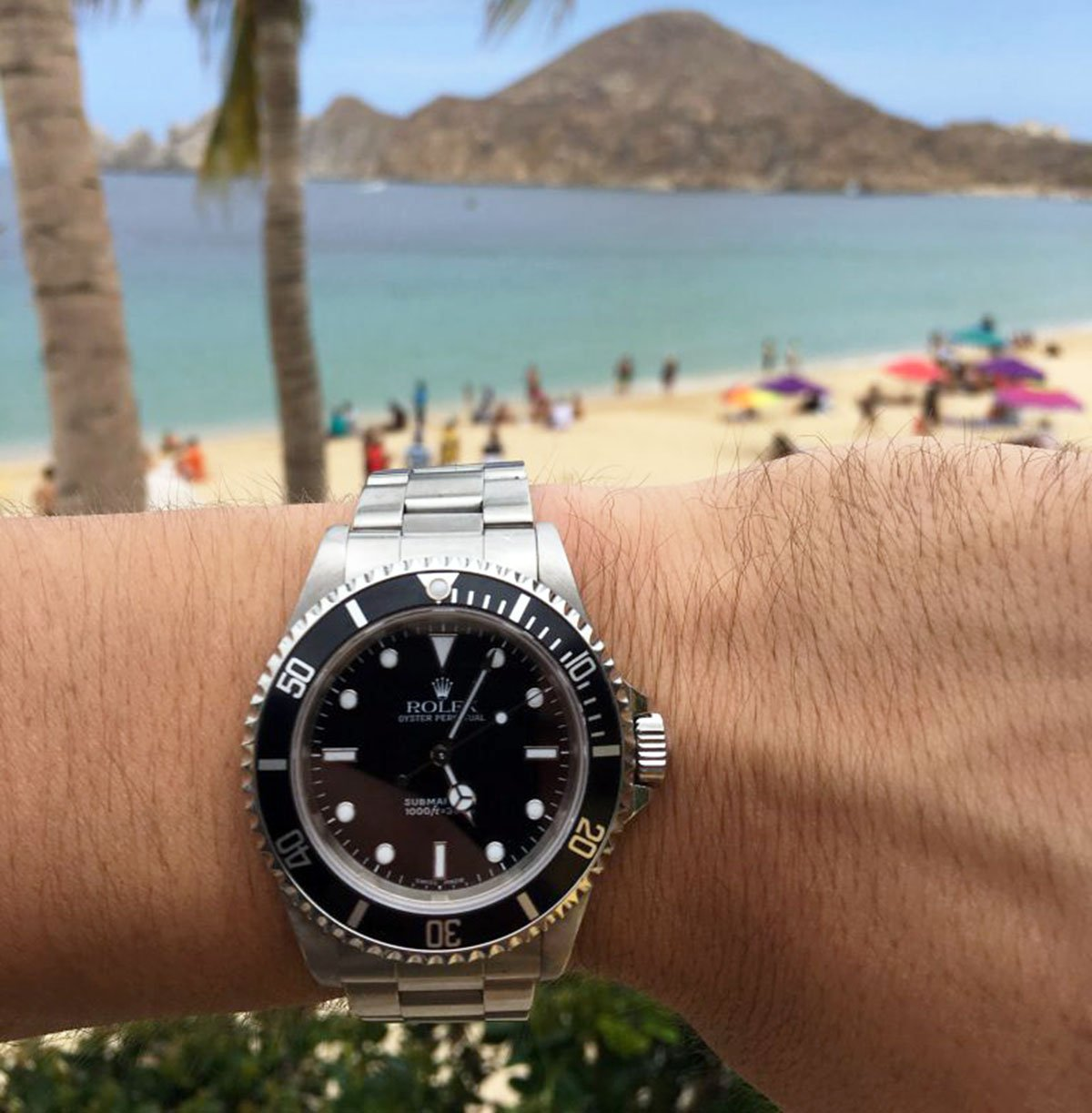 "The Rolex Submariner 14060M (""m"" meaning modified"