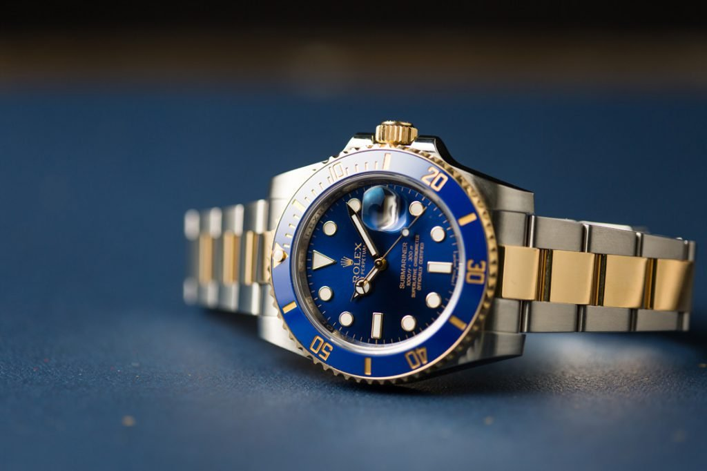 Rolex Submariner Lume During Day