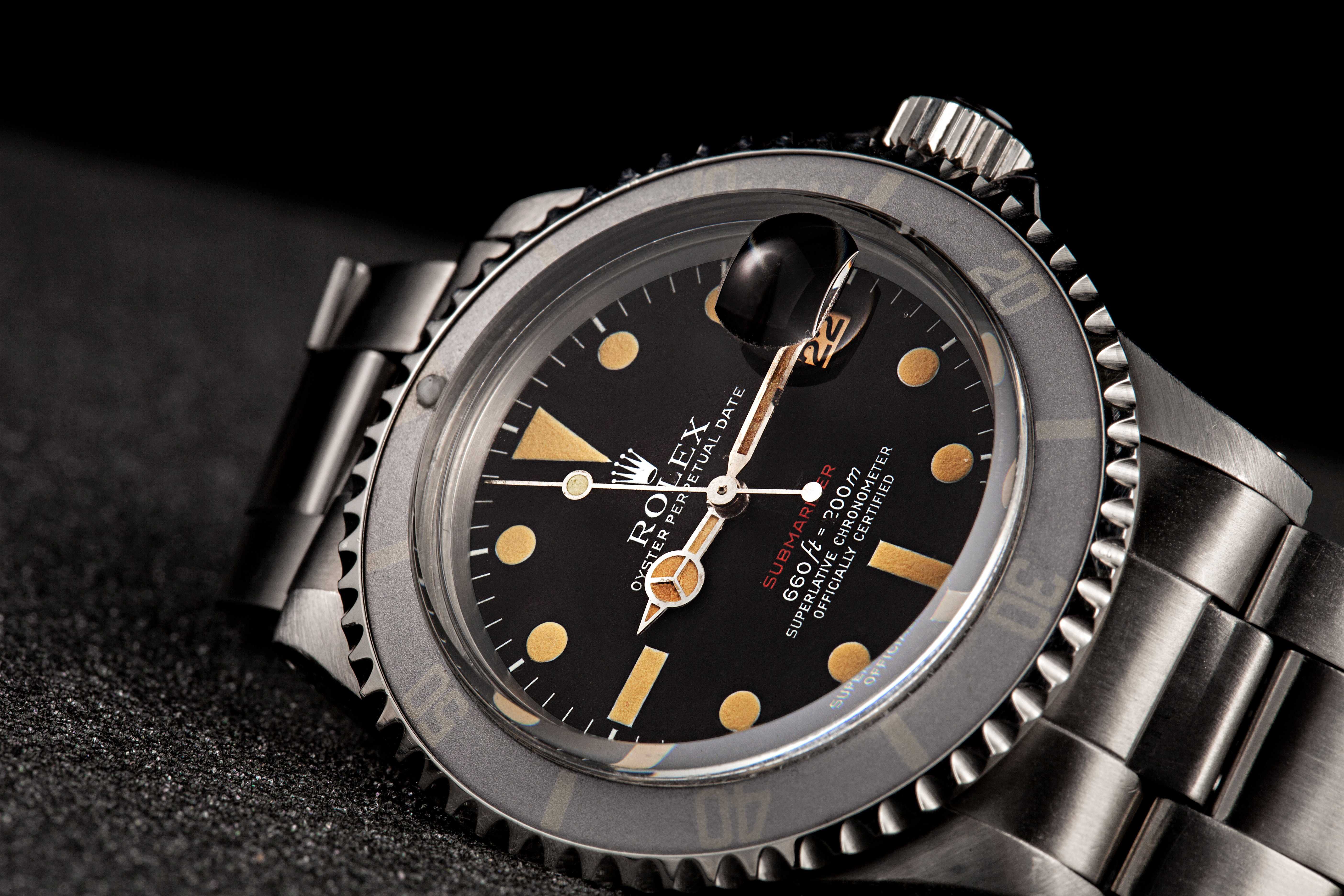 First Rolex Watch Ever Made vintage submariner red sub