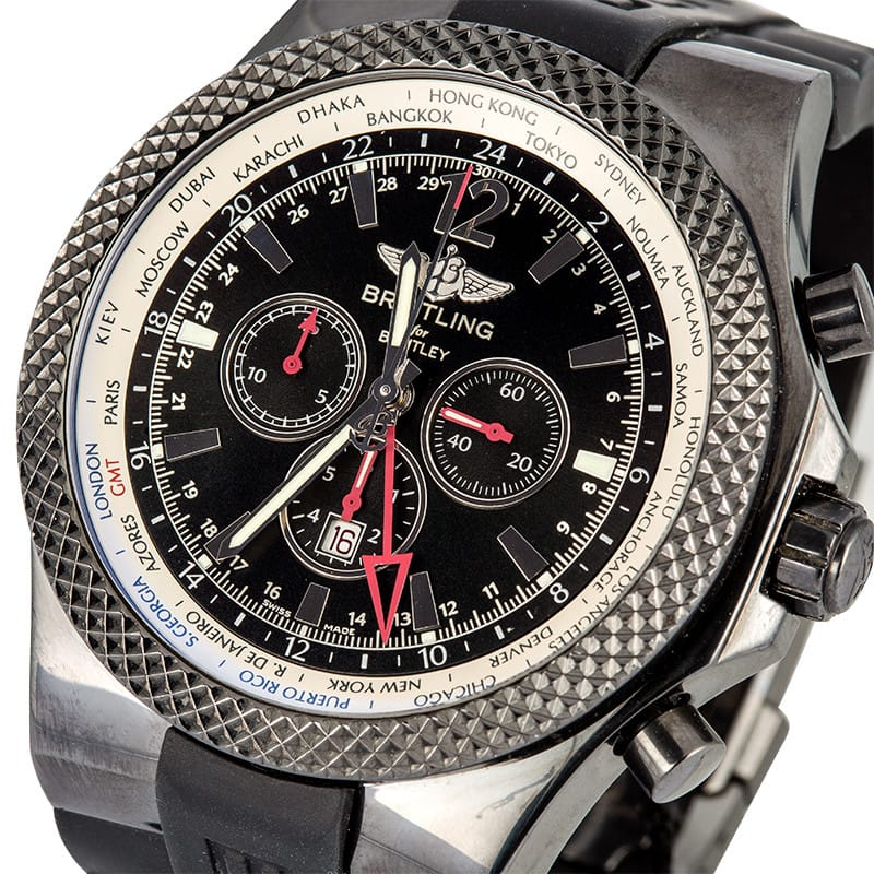 Breitling GMT Midnight Carbon
