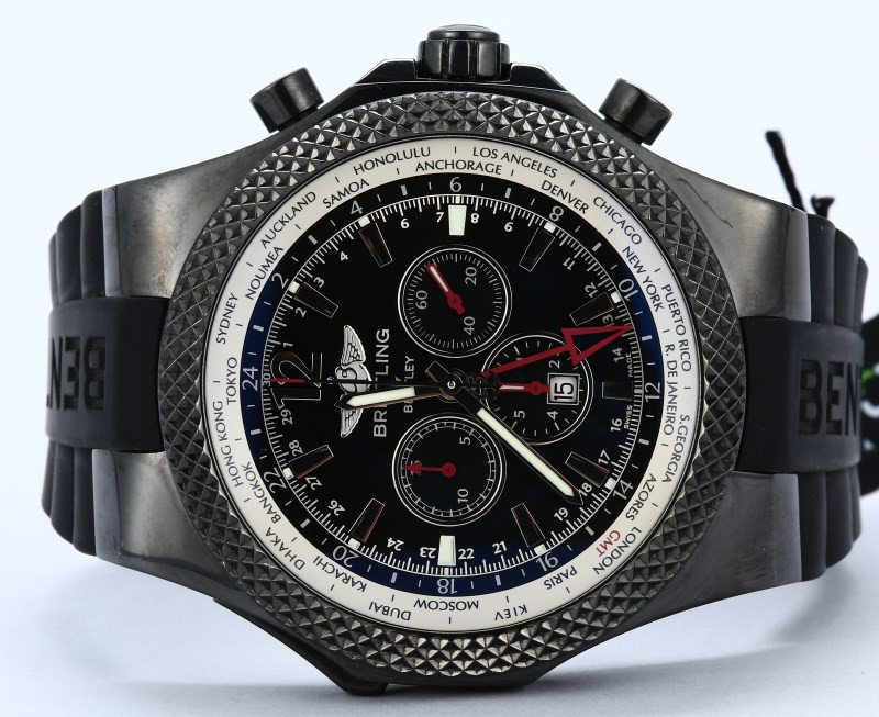 GMT Midnight Carbon Breitling for Bentley