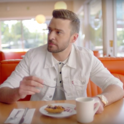 Justin Timberlake wearing his Rolex President Day-Date (Image: Youtube.com/JustinTimberlakeVevo