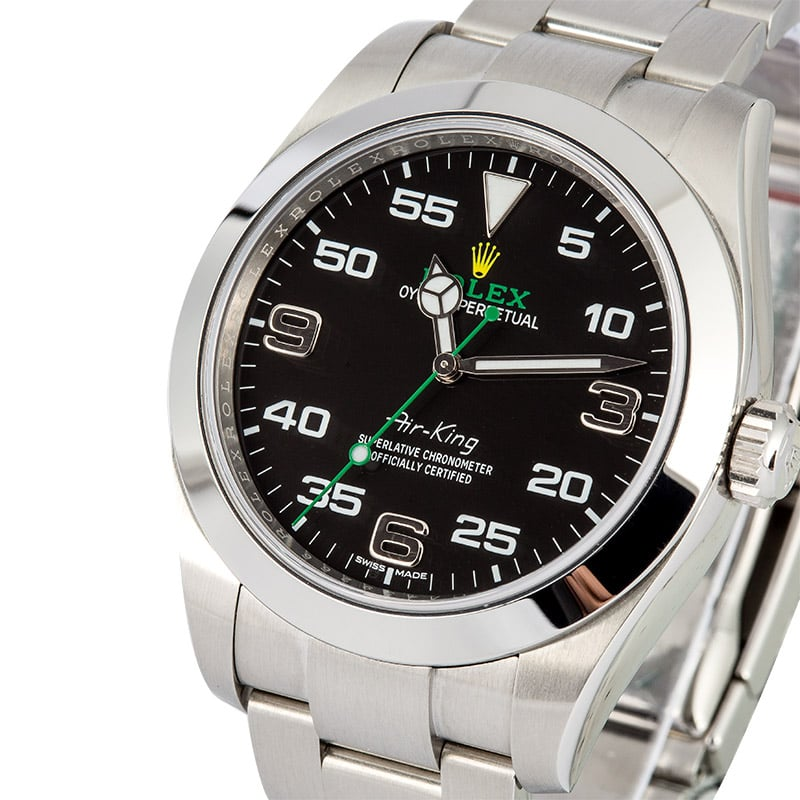 5 fast facts about rolex s new air king 116900 bob 39 s watches for Rolex air king