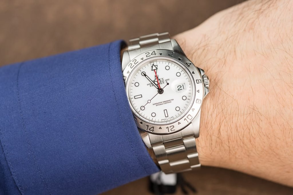 3 icy cool examples of the rolex explorer ii polar bobs