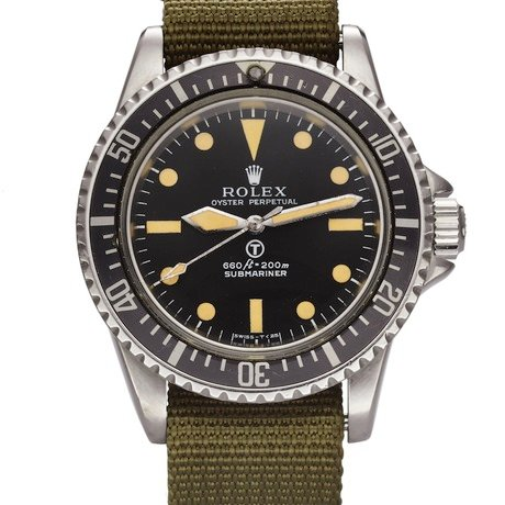 """Rolex ref. 5513 """"Milsub"""""""