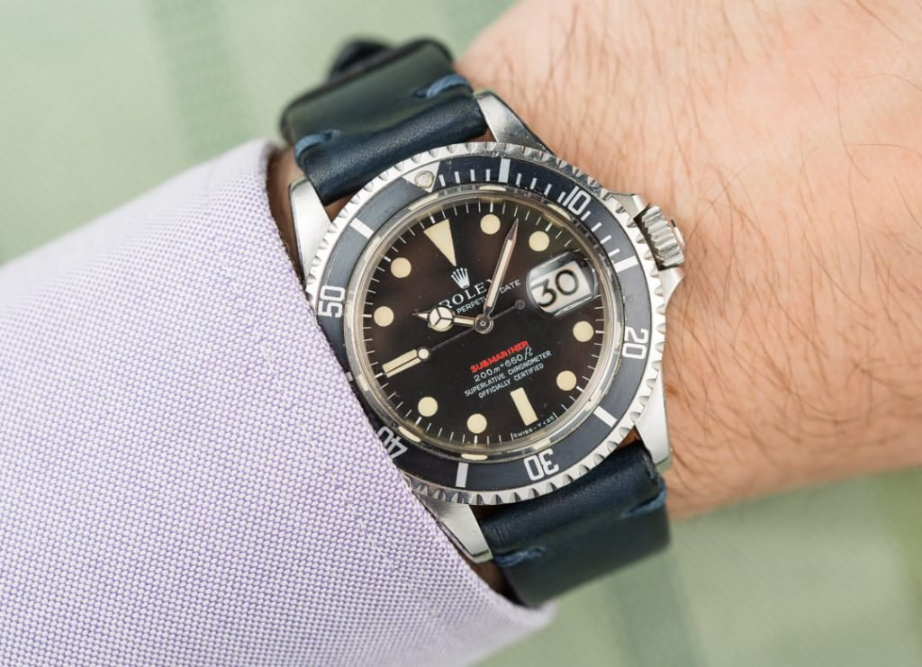 Rolex Red Submariner ref. 1680 Mark II Dial