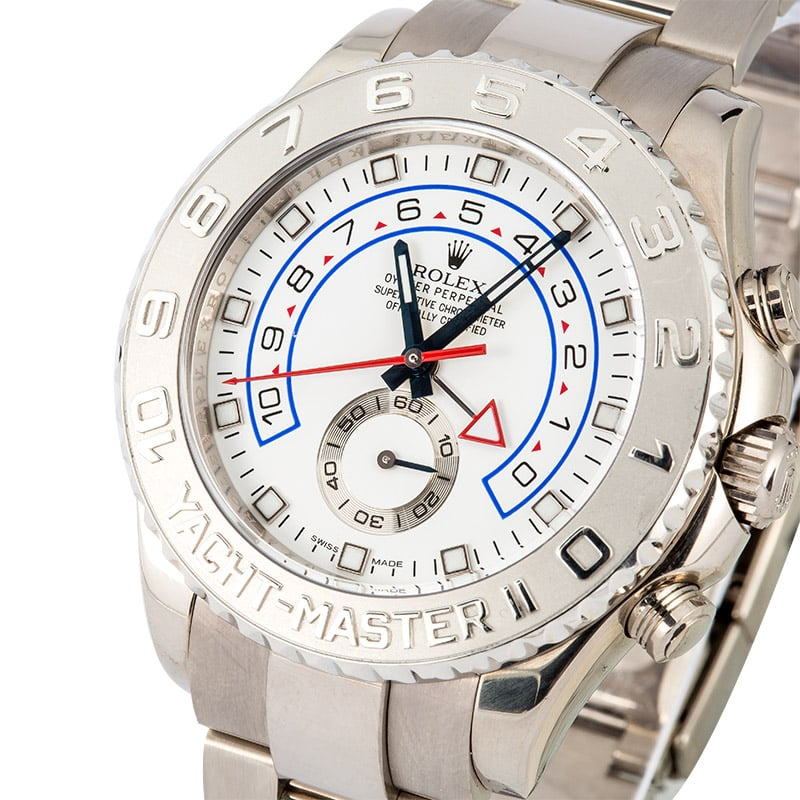 White gold and platinum Rolex Yacht-Master II ref. 16689