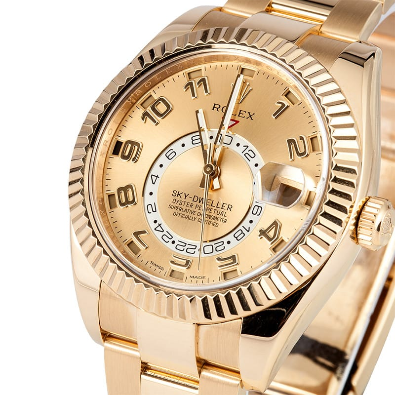 Yellow gold Yellow Sky-Dweller ref. 326938