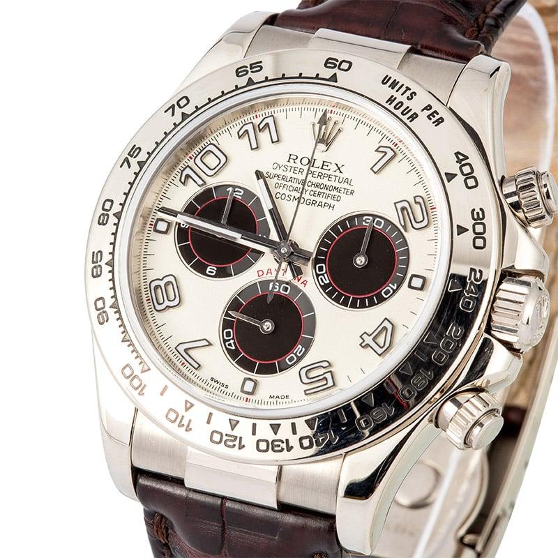 White gold Rolex Daytona ref. 116519