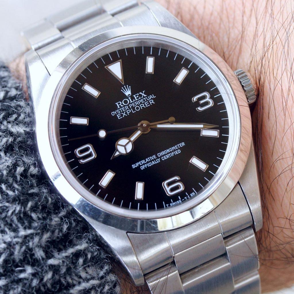 Wristshot Rolex Explorer