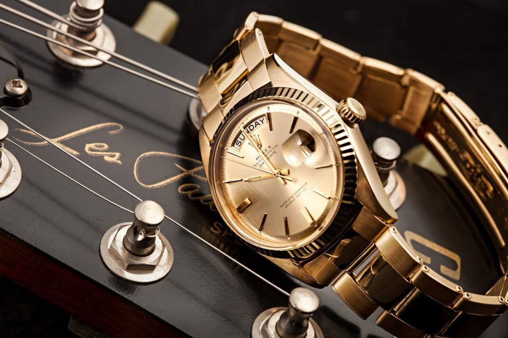 Yellow gold Rolex Day-Date President