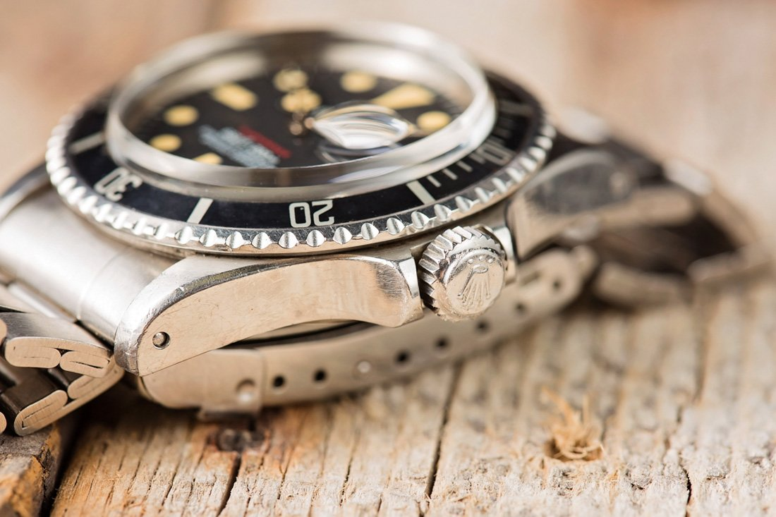 Crown Vintage Rolex Submariner