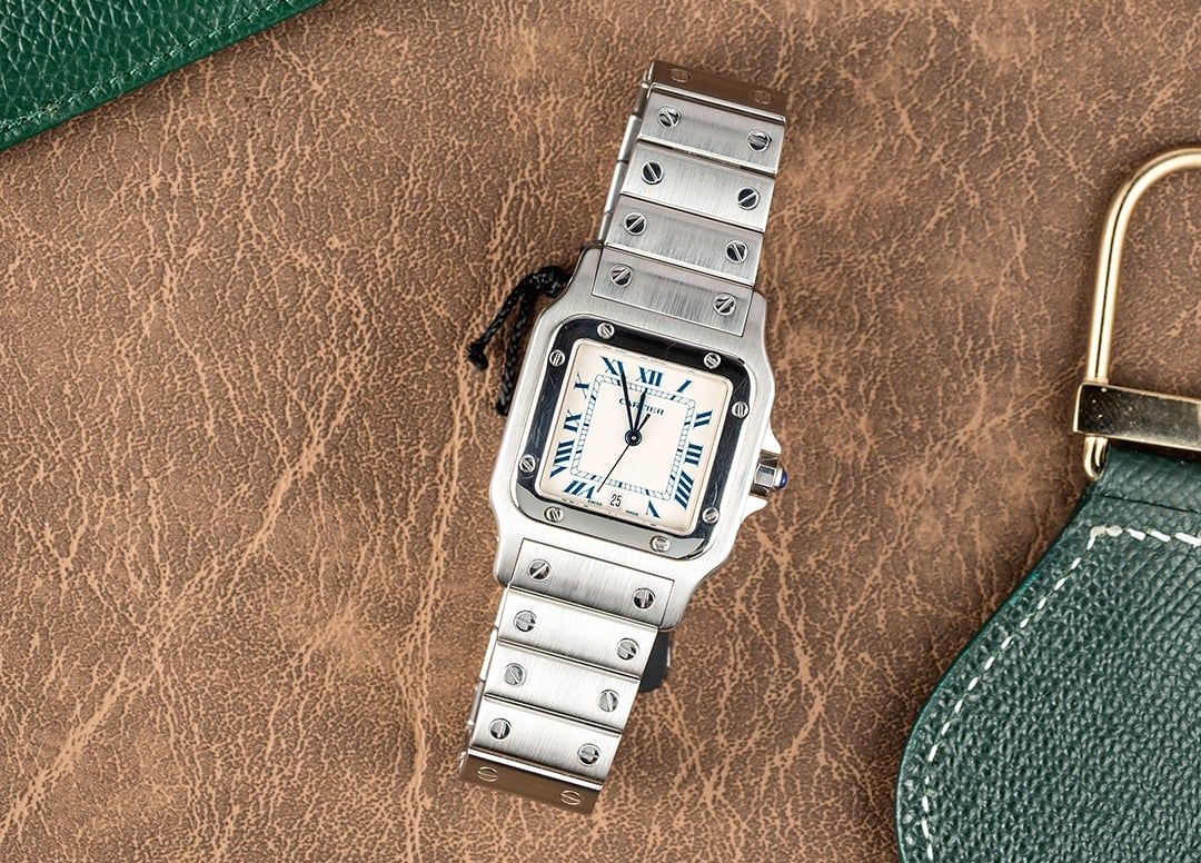 The Cartier Santos ref. 1564 is one of the most iconic square watches ever made
