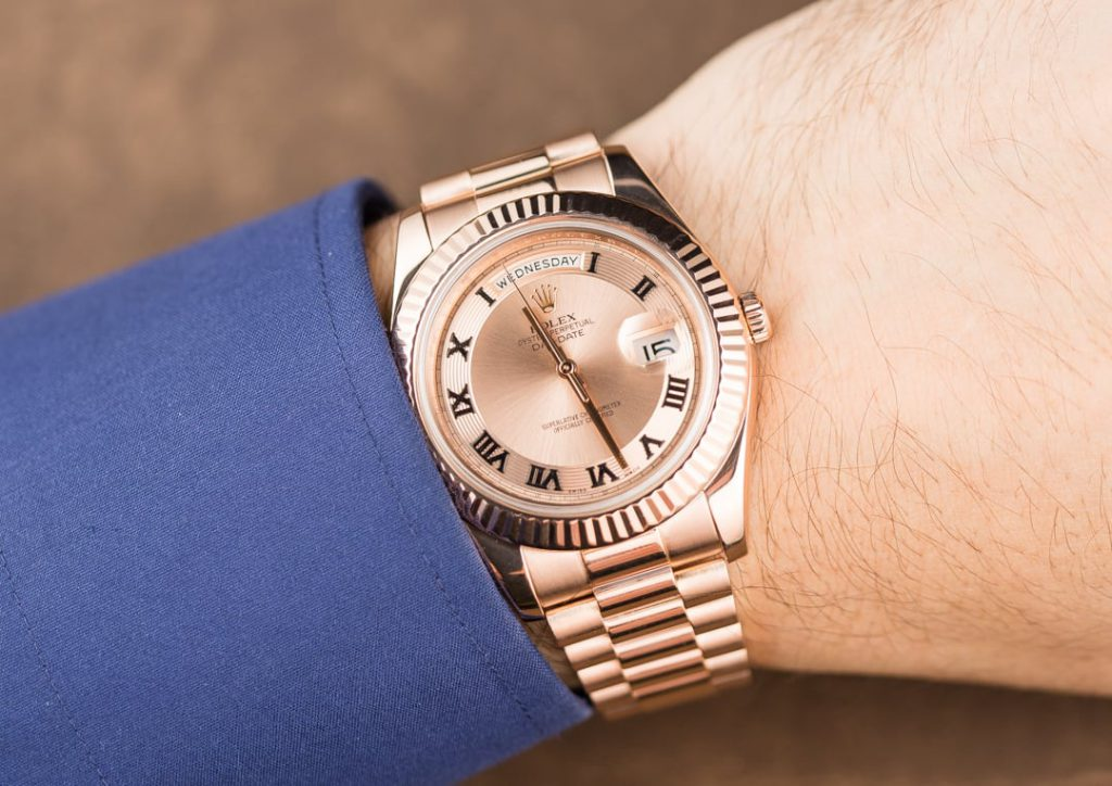 A Rolex President Day Date Ii A Few Shades Above The Rest