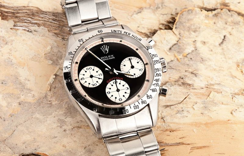 Rolex Daytona Paul Newman holds an incredibly high value through time because of its rarity.