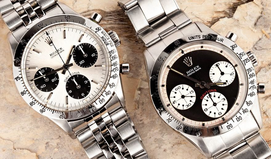 Different Types of Rolex Dials - Daytona Panda Paul Newman