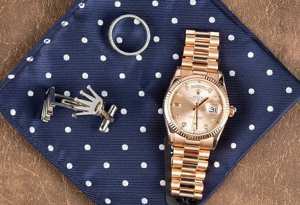 Rolex President Day Date 118235 Everose Gold